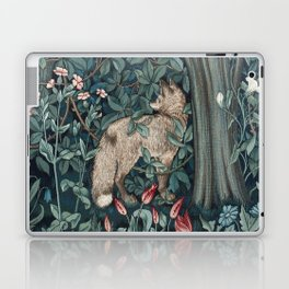 William Morris Forest Fox Greenery apestry Laptop & iPad Skin