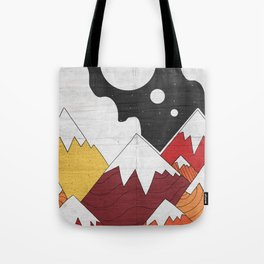 Three Moon Mounts Tote Bag