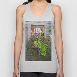 Nantucket Window box Unisex Tank Top