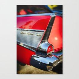 Chevy Bel Air Tail Fin Canvas Print