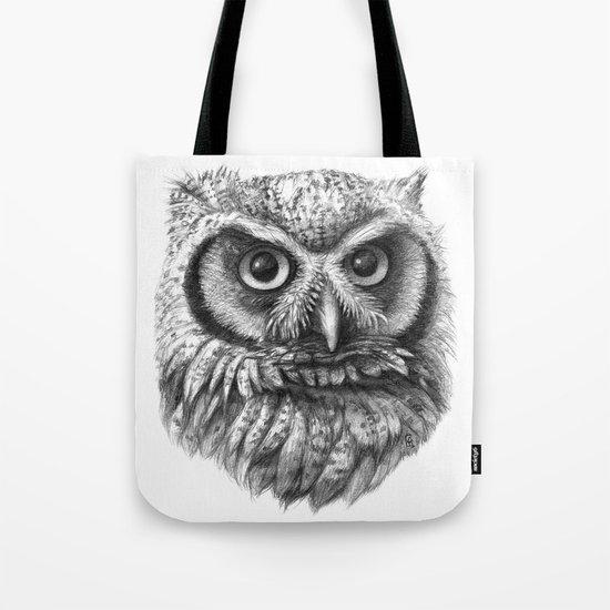 Intense Owl G137 Tote Bag