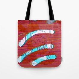 Set Me Free #glitch #art Tote Bag