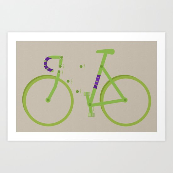 Training Wheels Art Print