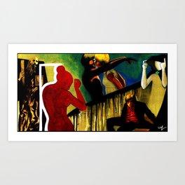 Wreckless Tonight Art Print