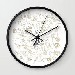 minima - beta bunny / gear Wall Clock