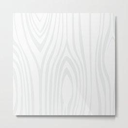 Wood background. White Wooden Slats  #society6 #decor #buyart #artprint Metal Print