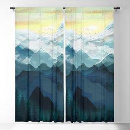 Mountain Range Blackout Curtain