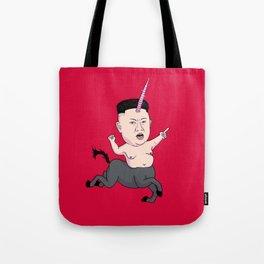 Kim Jong Unicorn Tote Bag