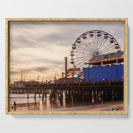 Santa Monica Pier Fun Serving Tray