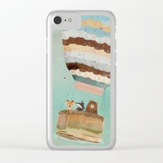 a little wondrous adventure Clear iPhone Case