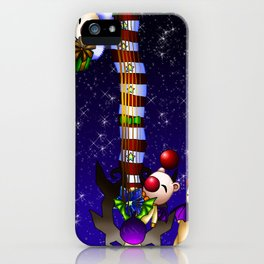 Fusion Keyblade Guitar #181 - Mogry of Glory & Decisive Pumpkin iPhone Case
