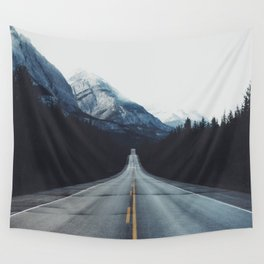 Mountain Road #forest Wall Tapestry