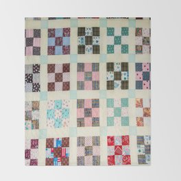 Large Quilt Throw Blanket