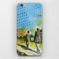 native iPhone & iPod Skins featuring Native by MATEO