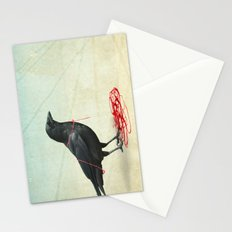 freedom  _ black crow Stationery Cards