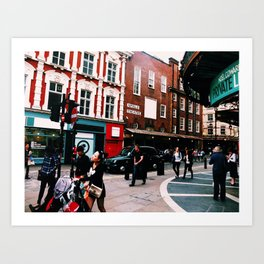 London Apollo Theatre Art Print