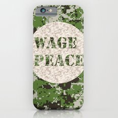 WAGE PEACE iPhone 6s Slim Case