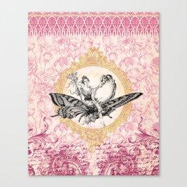 Vintage Fairy Queen Canvas Print