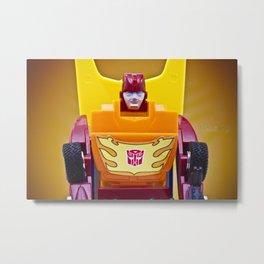 G1 Transformers Autobot Rodimus Prime Metal Print
