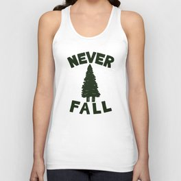 NEVER F\LL Unisex Tank Top