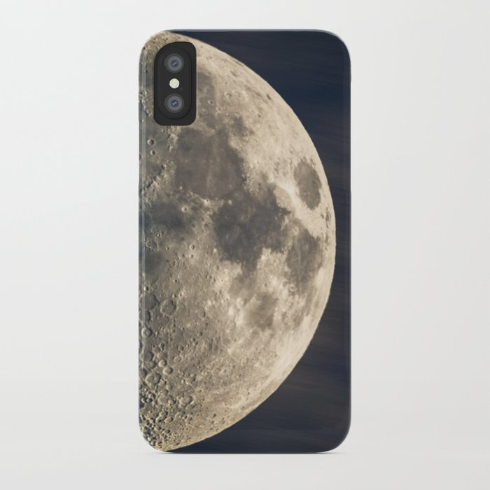 iphone half moon half moon iphone by hannes61 society6 11907