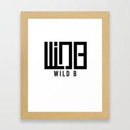 Wild B Framed Art Print
