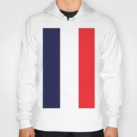 france Hoodies featuring France by shannon's art space