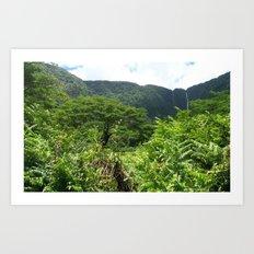 HAWAII BIG ISLAND HORSE Art Print