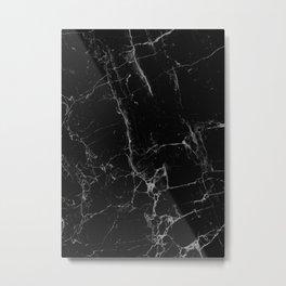 Marble, Print, Minimal, Scandinavian, Abstract, Pattern, Modern art Metal Print