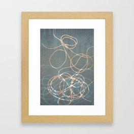 Blue Nest 1 Framed Art Print