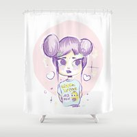 homer Shower Curtains featuring Homer Tshirt by puropopo - プロポポ