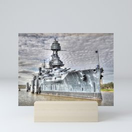 Battle Ship Texas Mini Art Print