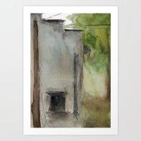 Building No. 7 Art Print