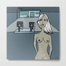 Nude#02 Metal Print