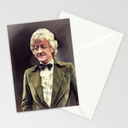 Jon Pertwee, Time Lord Stationery Cards
