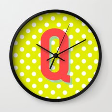 Q is for Quality Wall Clock