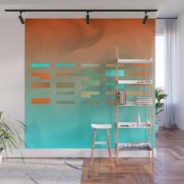 2in1 Pattern Mix, Justin aqua Wall Mural