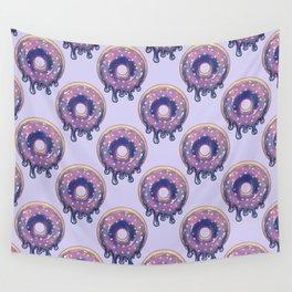 Galaxy Donut - Purple Wall Tapestry