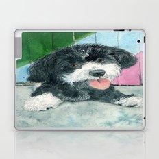 Sammy the Parti-poodle Pup Laptop & iPad Skin