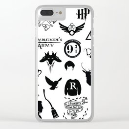 potter's head Clear iPhone Case