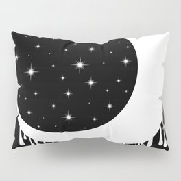 Invert Moon Pillow Sham