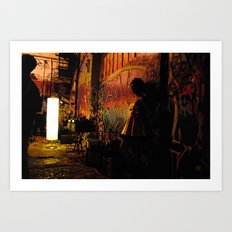 Funky Formal Art Print