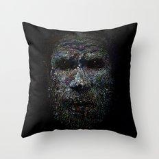 Chimbu Man Throw Pillow