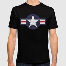 U.S. Military Aviation Star National Roundel Insignia T-shirt