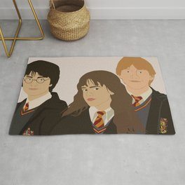 Harry, Ron and Hermoine Rug