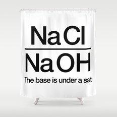 NaClNaOH Shower Curtain