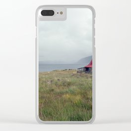Scottish Bothy Clear iPhone Case