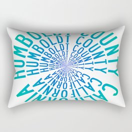 Humboldt County California Rectangular Pillow