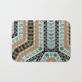 Graphic design futuristic residential Bath Mat