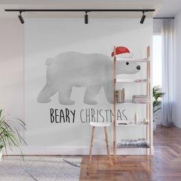 Beary Christmas | Polar Bear Wall Mural